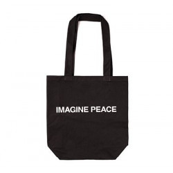 Tote Bag Yoko Ono Imagine...