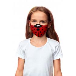 Máscara ABC Joaninha