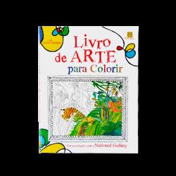 LIVRO DE ARTE COLORIR