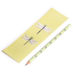 Lápis + Marcador Libélula,...