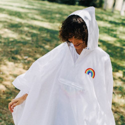 Raincoat Yolo Rainbow
