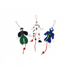 Wood Marionette Green, Miró