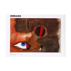 Poster Apparitions 1935, Miró