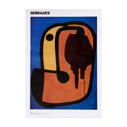 Poster Tête d'homme 1935, Miró