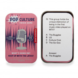 Pop Culture Trivia Game,...