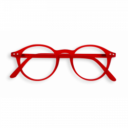 READING GLASSES D RED